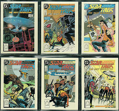 The Quotable Star Trek The Next Generation Comic Book Card Singles