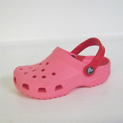 Girls Pink Synthetic Clogs By Crocs Style Cayman Kids