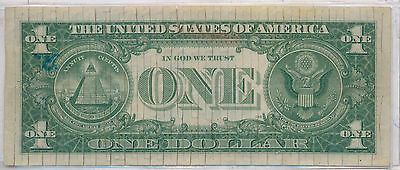 Series of 1957 $1 Bank Note, Blue Label