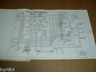 1982 Ford Courier pickup truck wiring diagram schematic SHEET service manual