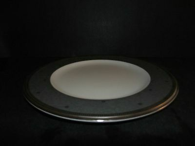 Noritake Lenore Platinum Lunch Luncheon Plate