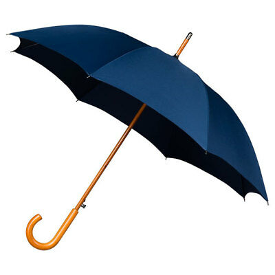Falcone Men's Automatic Windproof Walking Umbrella - Dark Blue