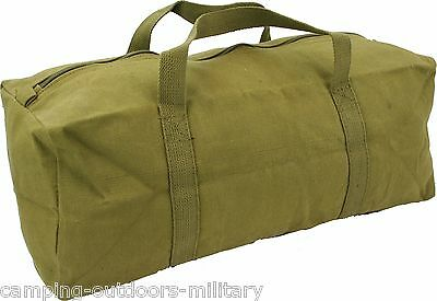 "NEW 18"" Heavy Duty Canvas TOOL BAG, Holdall Small travel camping Bags Toolbag"