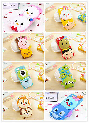 Disney 3D cartoon Monster University silicone phone cover case For iphone 5s 6