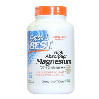 High Absorption Magnesium - 240 x 100mg Tablets