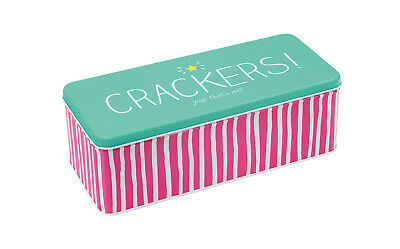 Happy Jackson 'Crackers' Long Deep Rectangular Tin