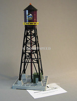 MTH 193 INDUSTRIAL WATER TOWER o gauge train track illuminated 30-90415  NEW