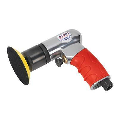 "Sealey Car/Auto Air Polisher 75mm/3"" Mini Buffer/Buffing/Detail Machine - GSA722"