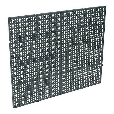 Siegen Composite Pegboard 2pc Tool/Workshop Storage Panels/ Organiser - S0765