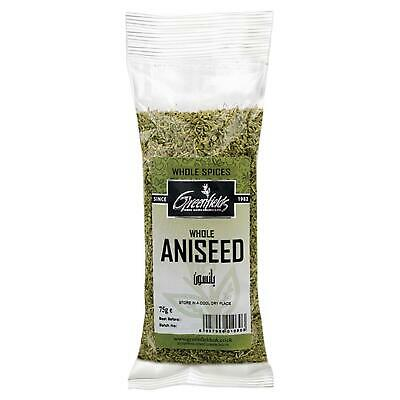 Whole Aniseed / Anise Seed - Dried Spice - 75g Bag - Greenfields