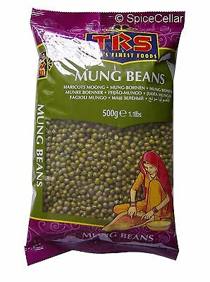 Mung / Moong Beans for Sprouting - 500g Bag - TRS Brand