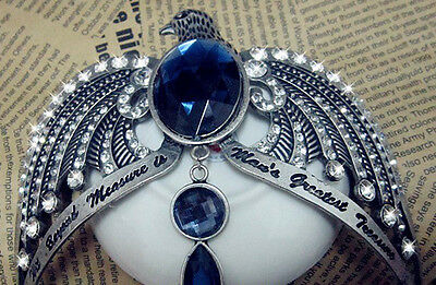 Hot Sell Unique Harry Potter & Deathly Hallows Ravenclaw Lost Diadem Tiara Crown