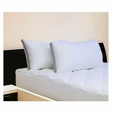 """2 pk Hotel Luxury Reserve Collection Cotton Bed Pillows 20"""" x 28"""" Standard Queen"""