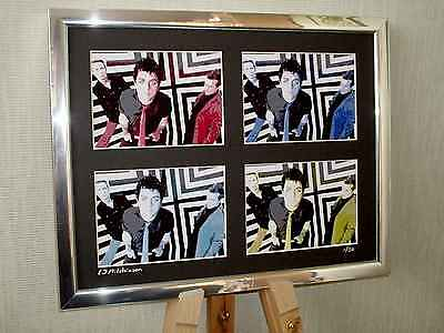 Green Day Billie Joe Armstrong Ltd Edition Signed Pop Art Canvas