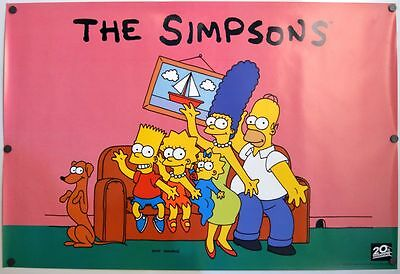 Simpsons - original TV show poster - 1994 Style A