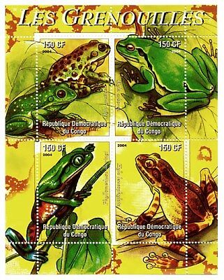 Frogs On Stamps 104-11