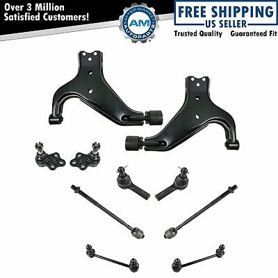 Control Arms & Parts Suspension & Steering Lower Arms Ball Joints Links Tie Rods For Nissan Pathfinder 10/1995 to 09/2003