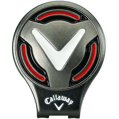 Callaway Golf Chev Hat Clip Magnetic Ball Marker