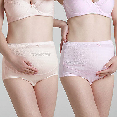 New Maternity Pregnancy Knickers Underwear Over Bump Support Tummy Pantie Briefs