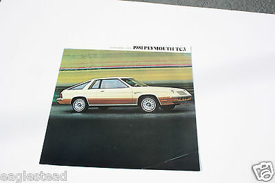 Auto Brochure - Plymouth - TC3 - 1981 (AB482) - OS