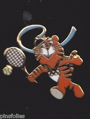 Pin's Folies *Official games Badge US Olympic Team Mascots 1988 Seoul Tennis