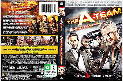 DVD: THE A-TEAM [LIAM NEESON,BRADLEY COOPER] W/S [THEATRICAL & EXTENDED VERSION]