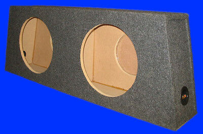 """Ford Mustang Convertible 1995-2012 10"""" Up-Fire Grey Subwoofer Sub Enclosure Box"""