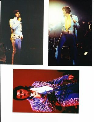 "1970S Rare Elvis Presley 4X6"" Concert Photo Lot 3 13/27"