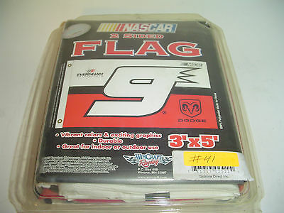 As Is #41 KASEY KAHNE Nascar #9 Flag Everham 3x5 House Tailgate Banner fabric