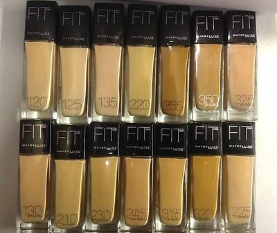 Maybelline Fit Me Liquid Foundation No 135 Creamy Natural New Sealed 30Ml Size