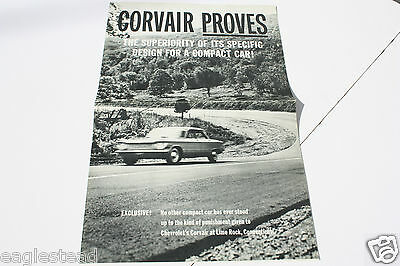 Auto Brochure - Chevrolet - Corvair - Lime Rock Race Test Superiority (AB496)