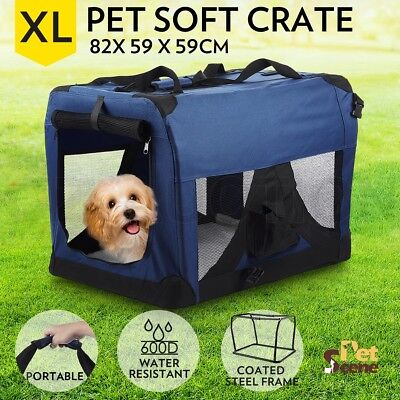 Extra Large Portable Pet Soft Crate Dog Cat Puppy Pet Carrier Waterproof Folding