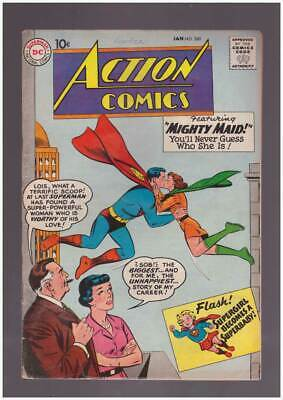 Action Comics # 260  Featuring Mighty Maid !  grade 3.5 Silver Age DC