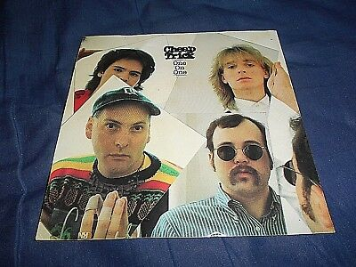 """Retro 1982 Cheap Trick One On One Epic  6"""" X 6"""" Promo Post Card Unused"""