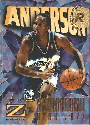 1996-97 Z-Force #141 Shandon Anderson RC