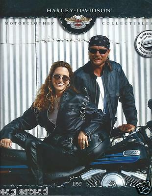 Motorcycle Brochure - Harley Davidson - Clothing Collectibles Spr 95 (DC362) OS