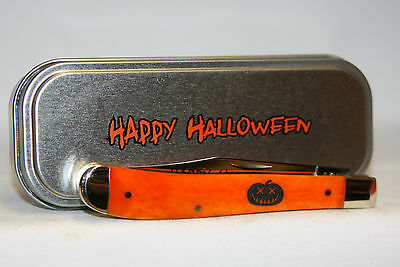 Case 2014 Halloween Slimline Trapper - Item # 10545 - Factory Sealed Tin