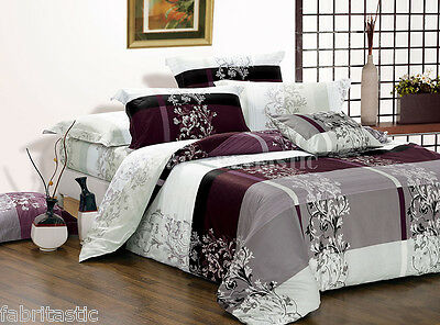 *MAISY* Double/Queen/King Size Bed Quilt/Doona/Duvet Cover Set New M367