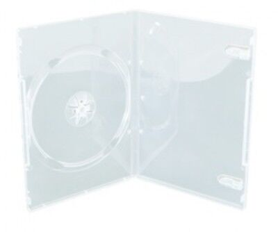 200 SLIM Clear Single DVD Cases 9MM