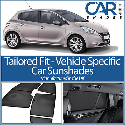 Peugeot 208 5dr 12 On CAR WINDOW SUN SHADE BABY SEAT CHILD BOOSTER BLIND UV