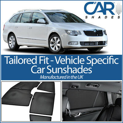 Skoda Superb Estate 09-15 CAR WINDOW SUN SHADE BABY SEAT CHILD BOOSTER BLIND UV
