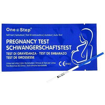 25 Pregnancy Test Strips ULTRA EARLY 10mIU HCG Urine Testing Kits One Step