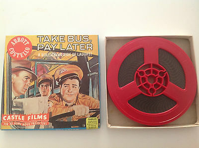 Super 8 -- Take Bus Pay Later - A Rollicking Ride Of Laughs - Abbott Costello