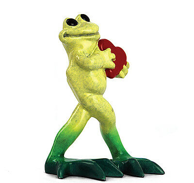 """New Kitty's Critters Frog Figurine SWEETHEART 3""""L x 2""""W x 3.75""""H"""