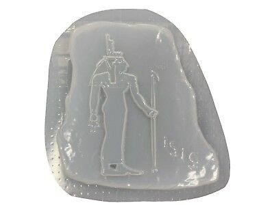 Isis Egyptian Patio Garden Cement Concrete Plaster Stepping Stone Mold 1242