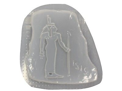 Isis Egyptian Patio Plaque Garden Concrete Plaster Stepping Stone Mold 1242