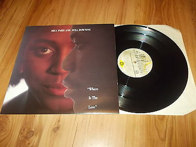 """Mica Paris & Will Downing-Where is the love-1989 12"""" single"""