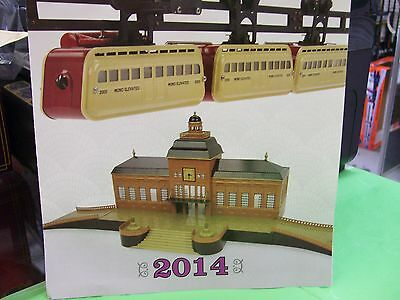MTH Tinplate Traditions Standard Gauge yr. 2014 Full Color Brochure * Monorail's