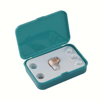 Mini In Ear Deaf Hearing Aid Aids Adjustable Sound Amplifier