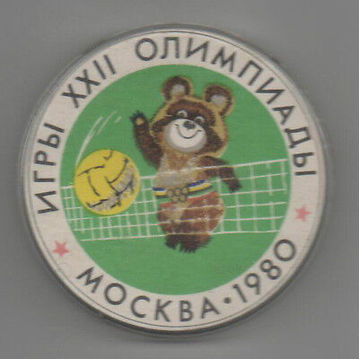 Orig.PIN / Badge  Olympic Games MOSKAU 1980  -  VOLLEYBALL  !!  RARE